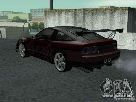 Nissan 240 SX pour GTA San Andreas laissé vue