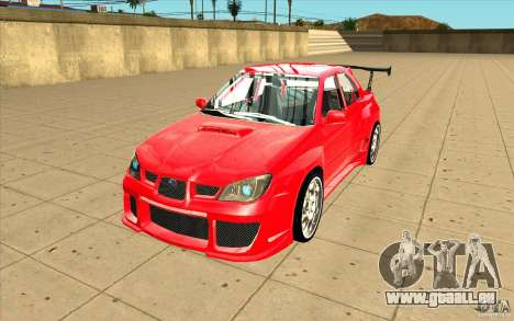 Subaru Impreza STI pour GTA San Andreas