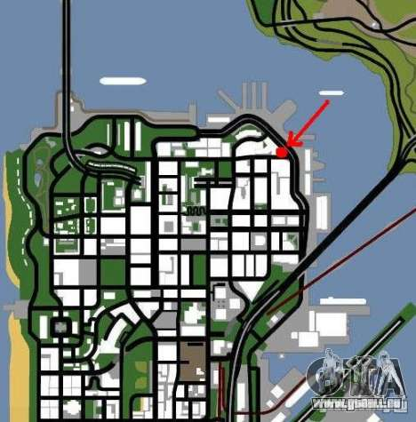 Automobil-Salon für GTA San Andreas zweiten Screenshot