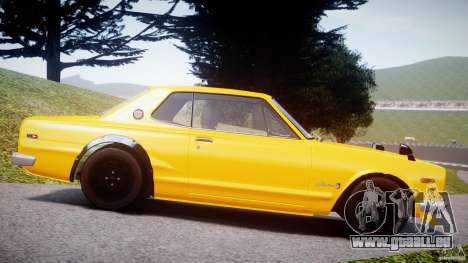 Nissan Skyline 2000 GT-R für GTA 4 linke Ansicht