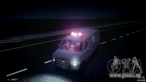 Chevrolet G20 Van V1.1 pour GTA 4 est un côté