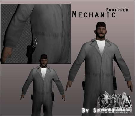 Mécanicien pour GTA San Andreas
