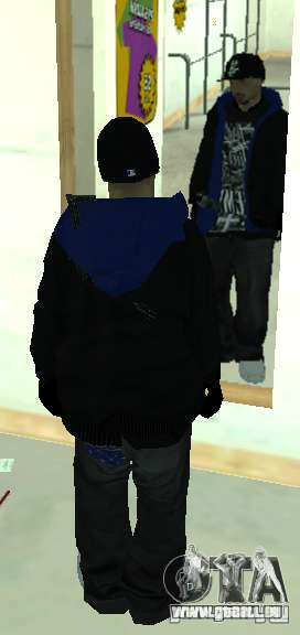 Vagos Gang Skins pour GTA San Andreas septième écran
