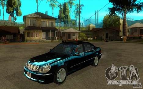 Mercedes-Benz S600 pour GTA San Andreas