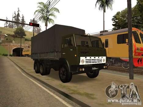 KAMAZ 5320 für GTA San Andreas obere Ansicht
