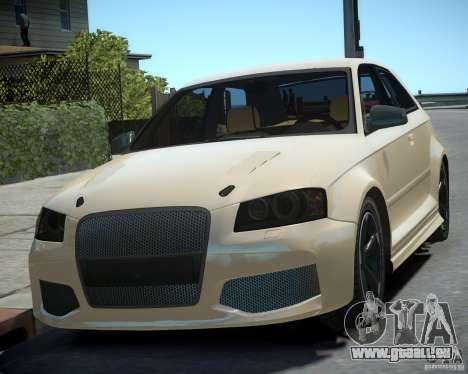 Audi S3 v2.0 für GTA 4 hinten links Ansicht