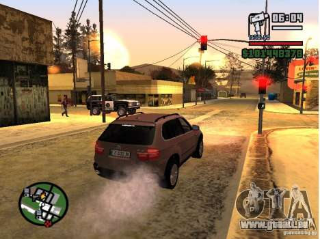 Winter Mod für GTA San Andreas her Screenshot