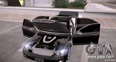 Mercedes-Benz S600 v12 pour GTA San Andreas vue de côté
