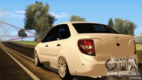 VAZ 2190 Grant für GTA San Andreas Innen