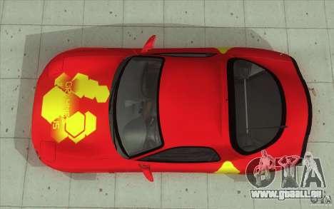 Mazda RX-7 - FnF2 pour GTA San Andreas vue de droite