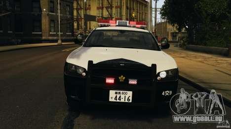 Dodge Charger Japanese Police [ELS] für GTA 4 Innenansicht