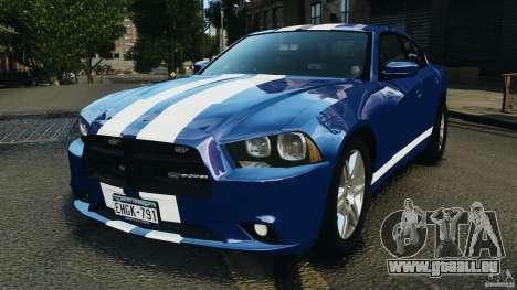 Dodge Charger Unmarked Police 2012 [ELS] für GTA 4