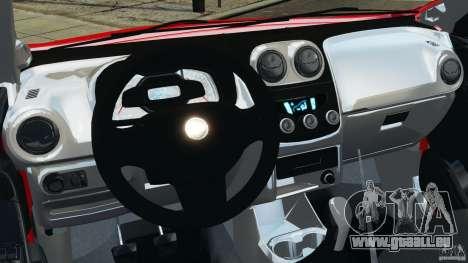 Chevrolet Agile für GTA 4 Rückansicht