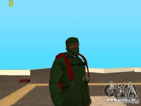 Parachute de TBOGT v2 pour GTA San Andreas troisième écran