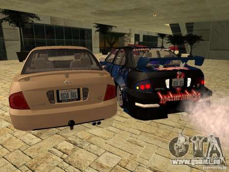Nissan Sentra für GTA San Andreas linke Ansicht