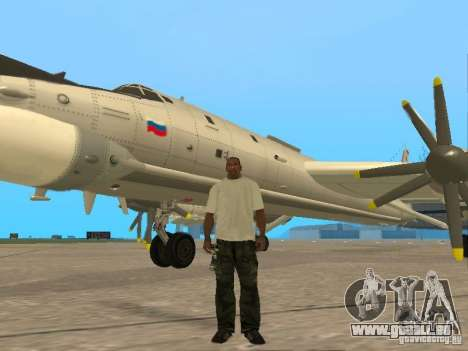 Tu-95 pour GTA San Andreas