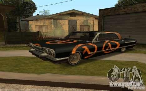 Savanna Texturen für GTA San Andreas zurück linke Ansicht