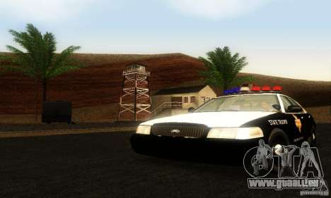 Ford Crown Victoria Texas Police pour GTA San Andreas