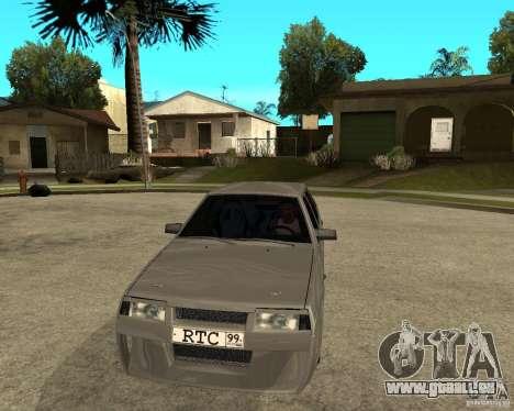VAZ-2199 Lûbera tuning für GTA San Andreas Rückansicht