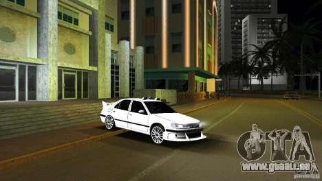 Peugeot 406 Taxi 2 für GTA Vice City zurück linke Ansicht