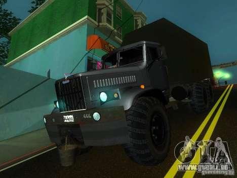 KrAZ-254 für GTA San Andreas