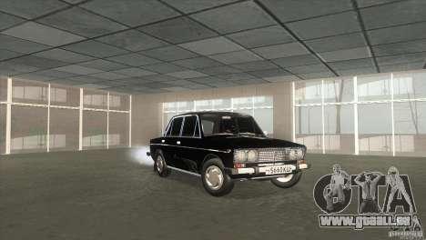 2103 Vaz pour GTA San Andreas vue de droite