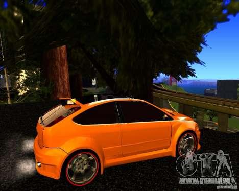 Ford Focus ST Racing Edition pour GTA San Andreas laissé vue