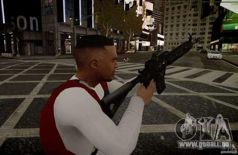 Das HK416 (automatisch) für GTA 4 weiter Screenshot