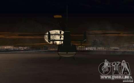 GTA IV Maverick pour GTA San Andreas vue arrière