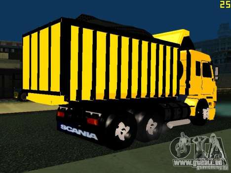 Scania 113H für GTA San Andreas rechten Ansicht