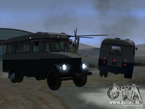 KAVZ 651A für GTA San Andreas rechten Ansicht