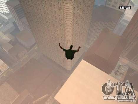 Parkour Mod für GTA San Andreas her Screenshot