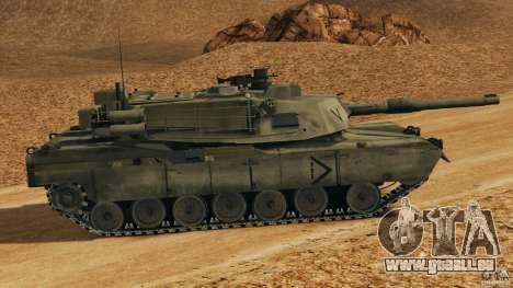 M1A2 Abrams pour GTA 4 est une gauche