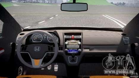 Honda C-RV SeX_BomB 2007 pour GTA 4 Vue arrière