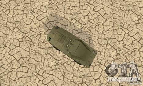 BRDM-1 Skin 1 für GTA San Andreas Innenansicht