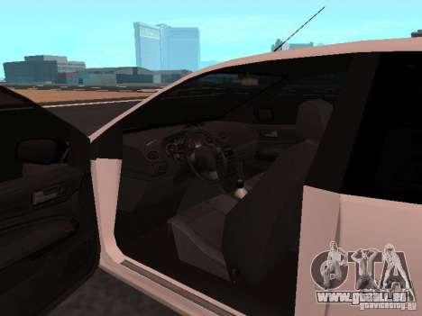 Ford Focus II pour GTA San Andreas vue de droite