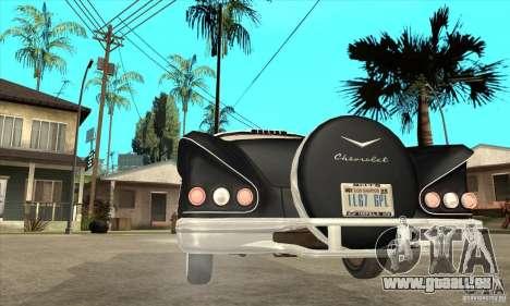 Chevrolet Impala 1958 pour GTA San Andreas vue de droite