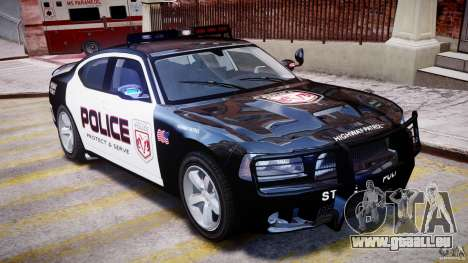 Dodge Charger NYPD Police v1.3 für GTA 4 obere Ansicht