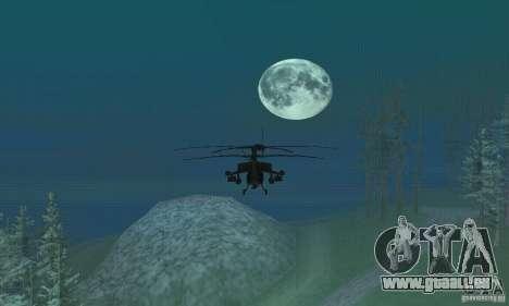 Rund um den Mond für GTA San Andreas zweiten Screenshot