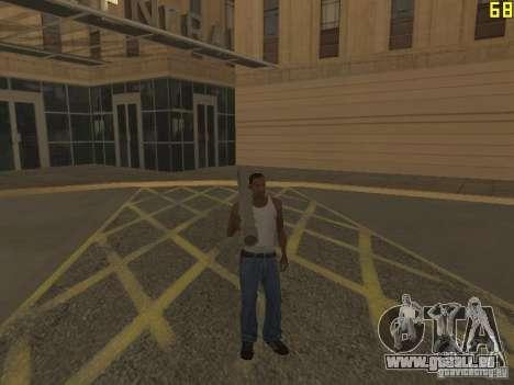 Régénération des bras en meurtre pour GTA San Andreas quatrième écran