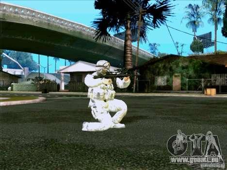 Électronique camouflage Morpeh pour GTA San Andreas deuxième écran