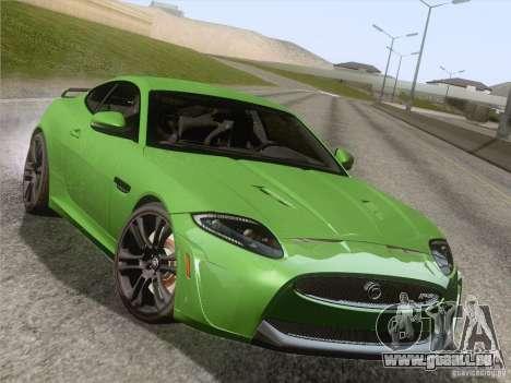 Jaguar XKR-S 2011 V2.0 pour GTA San Andreas roue