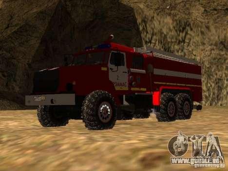 Ural 43206 AC 3.0-40 (6 x 6) pour GTA San Andreas