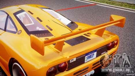Mc Laren F1 LM v1.0 pour GTA 4 est une vue de dessous