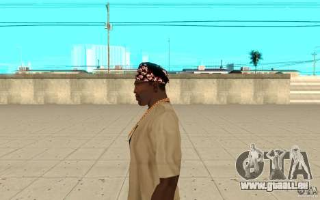 Bandana-superman für GTA San Andreas zweiten Screenshot