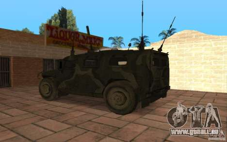 GAZ-2975-Tiger für GTA San Andreas linke Ansicht