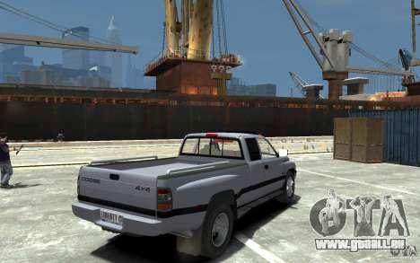 Dodge Ram 3500 1994 pour GTA 4 est un droit