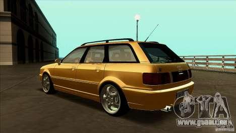 Audi RS2 Avant 1995 für GTA San Andreas zurück linke Ansicht