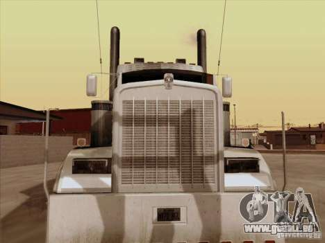 Kenworth W 900 RoadTrain pour GTA San Andreas laissé vue