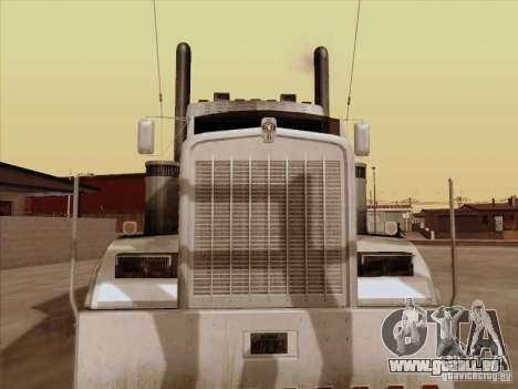 Kenworth W 900 RoadTrain für GTA San Andreas linke Ansicht